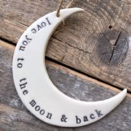 Katie Bentley Love You To The Moon & Back Keepsake
